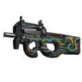 P90 | Emerald Dragon <br>(Field-Tested)