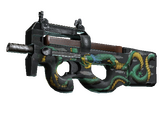 Weapon CSGO - P90 Emerald Dragon