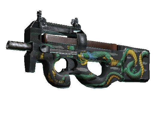 Operation Bravo P90 Emerald Dragon