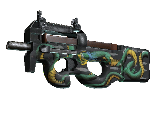 P90 | Emerald Dragon Minimal Wear