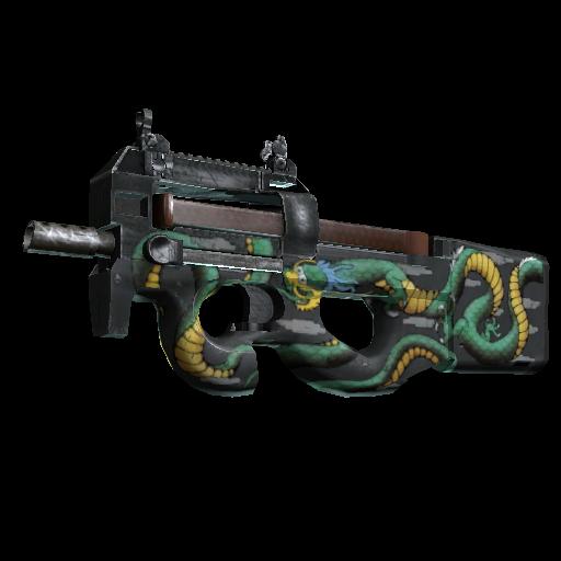 P90 | Emerald Dragon - gocase.pro