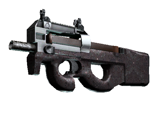 P90 | Baroque Red (Battle-Scarred)