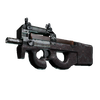 P90 | Baroque Red <br>(Well-Worn)