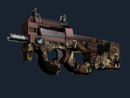 P90 | Tiger Pit (Battle-Scarred)