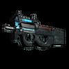 P90 | Astral Jörmungandr <br>(Battle-Scarred)
