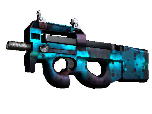 Скин P90 | Модуль (Немного поношенное)