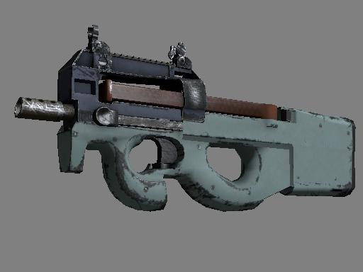 Скин Сувенирный P90 | Гроза (После полевых испытаний)