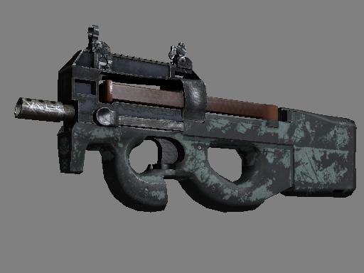 Скин P90 | Гроза (Закаленное в боях)