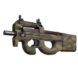 Souvenir P90 | Sand Spray (Minimal Wear)