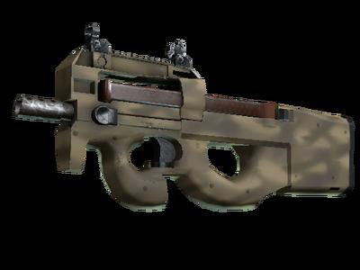 Сувенирный P90 | Песчаное напыление (Немного поношенное)