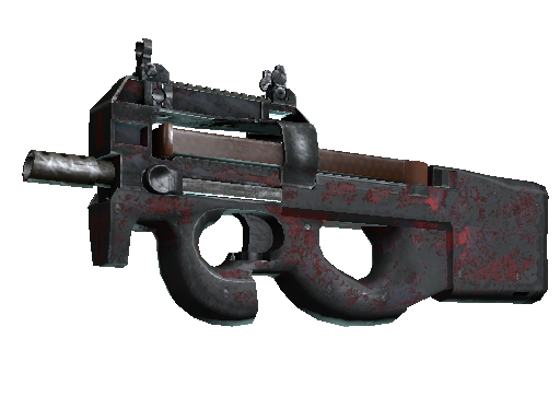 P90 | Fallout Warning Battle-Scarred
