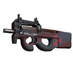 Souvenir P90 | Fallout Warning (Well-Worn)