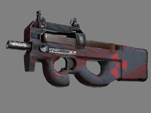 Souvenir P90 | Fallout Warning (Well-Worn)