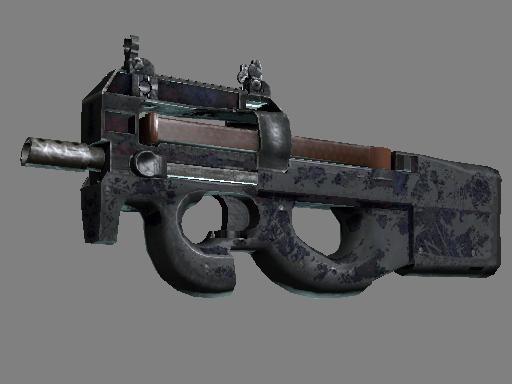 Скин P90 | Демонтаж (Закаленное в боях)