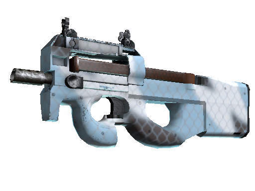 Souvenir P90 | Glacier Mesh (Well-Worn)