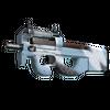 Souvenir P90 | Glacier Mesh <br>(Minimal Wear)