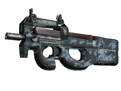 P90 | Glacier Mesh Battle-Scarred