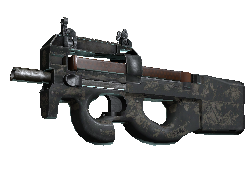Скин P90 | Сажа (Закаленное в боях)