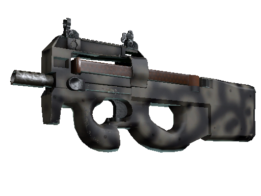 Скин Сувенирный P90 | Сажа (Немного поношенное)