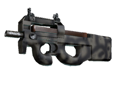 Сувенирный P90 | Сажа (Немного поношенное)