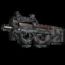Souvenir P90 | Scorched (Well-Worn)