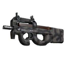 Souvenir P90 | Scorched (Well-Worn)