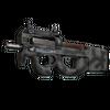 Souvenir P90 | Scorched <br>(Well-Worn)