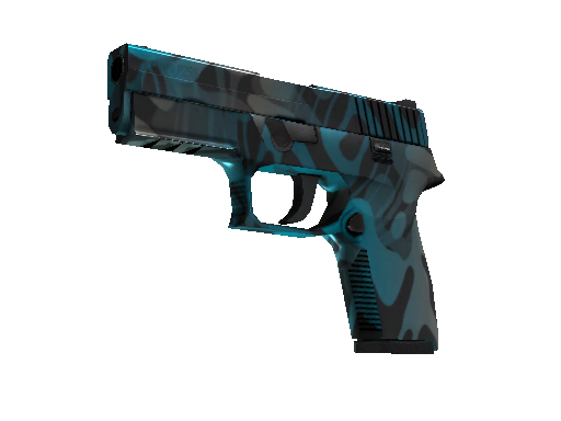 StatTrak™ P250 | Ripple (Battle-Scarred)