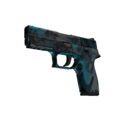 StatTrak™ P250 | Ripple (Well-Worn)