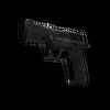 P250 | Dark Filigree <br>(Well-Worn)