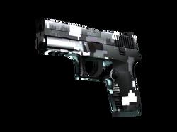 P250 | Пиксельный камуфляж «Металлический» (Прямо с завода)