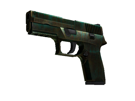 P250 | Verdigris Battle-Scarred
