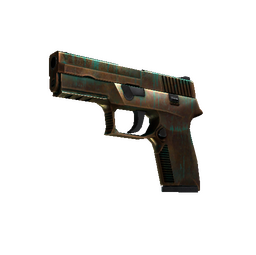 StatTrak™ P250 | Verdigris (Field-Tested)