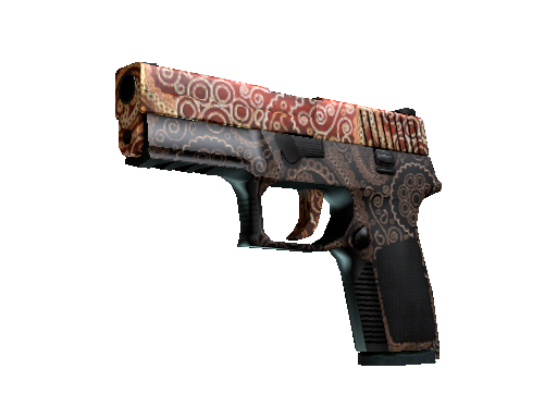 StatTrak™ P250 | Mehndi (Battle-Scarred)