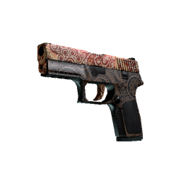 StatTrak™ P250 | Mehndi (Well-Worn)
