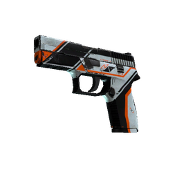 StatTrak™ P250 | Asiimov (Battle-Scarred)