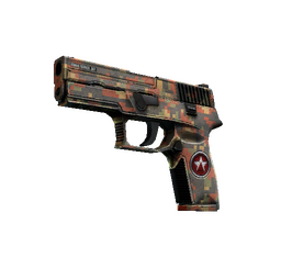 StatTrak™ P250 | Red Rock (Field-Tested)
