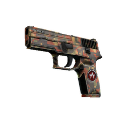 StatTrak™ P250 | Red Rock (Factory New)