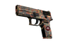 StatTrak™ P250 | Red Rock (Minimal Wear)