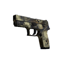 Souvenir P250 | Contamination (Well-Worn)