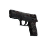 Souvenir P250 | Facility Draft <br>(Battle-Scarred)