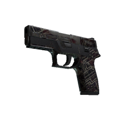Souvenir P250 | Facility Draft (Battle-Scarred)