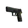 Souvenir P250 | Boreal Forest <br>(Battle-Scarred)