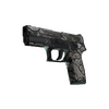 Souvenir P250 | Gunsmoke <br>(Battle-Scarred)