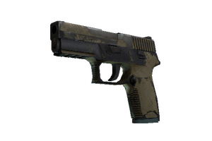 P250 Sand Dune Battle Scarred
