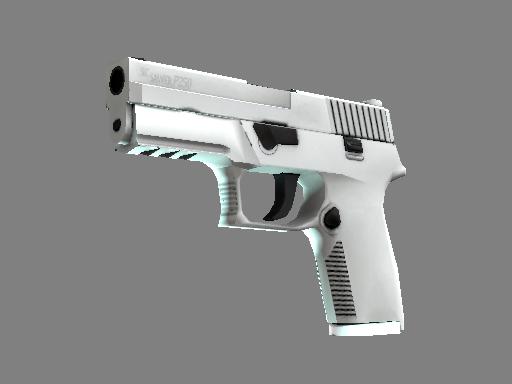Milspec P250 Whiteout