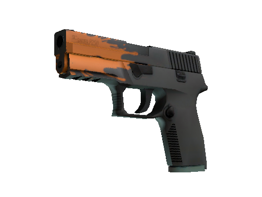 Restricted P250 Splash