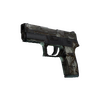 Souvenir P250 | Bone Mask <br>(Battle-Scarred)