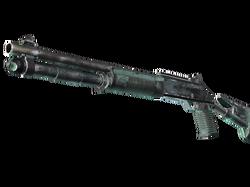 XM1014 | Голубая хвоя (Закаленное в боях)