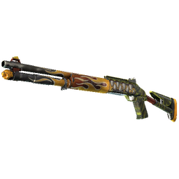 StatTrak™ XM1014 | Incinegator (Well-Worn)